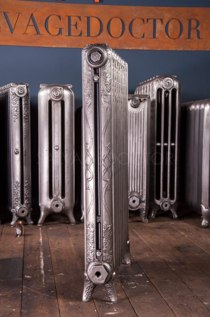 ARC Single Column Cast Iron Radiator 965mm High