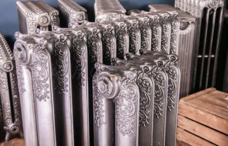 Beeston Decorative Early Design Cast iron Radiators