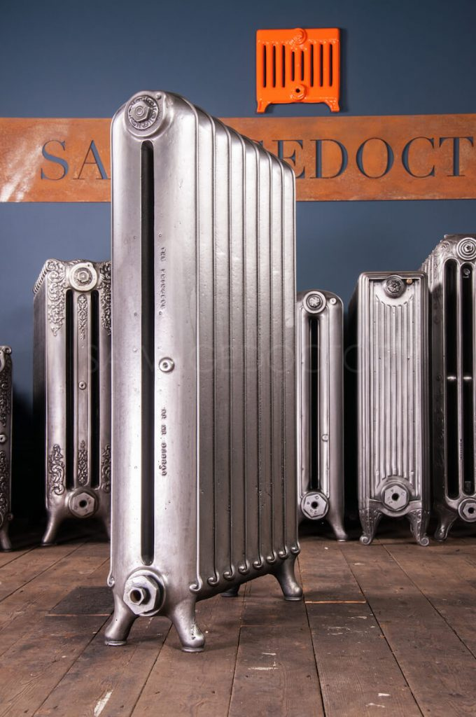 Beeston Two Column Variation Cast Iron Radiator 1000mm High
