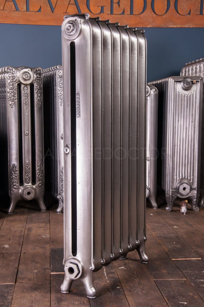 Beeston Dutches Curly Eared Cast Iron Radiator 1000mm High