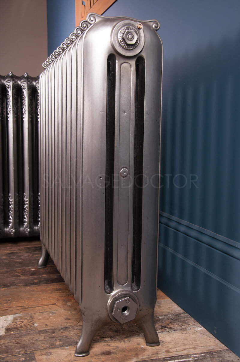 Curly Eared Duchess Three Column Cast Iron Radiator 915mm High