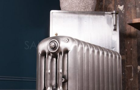 National Radiator Company (NRC) Warehouse cast iron radiator 508mm high in polish