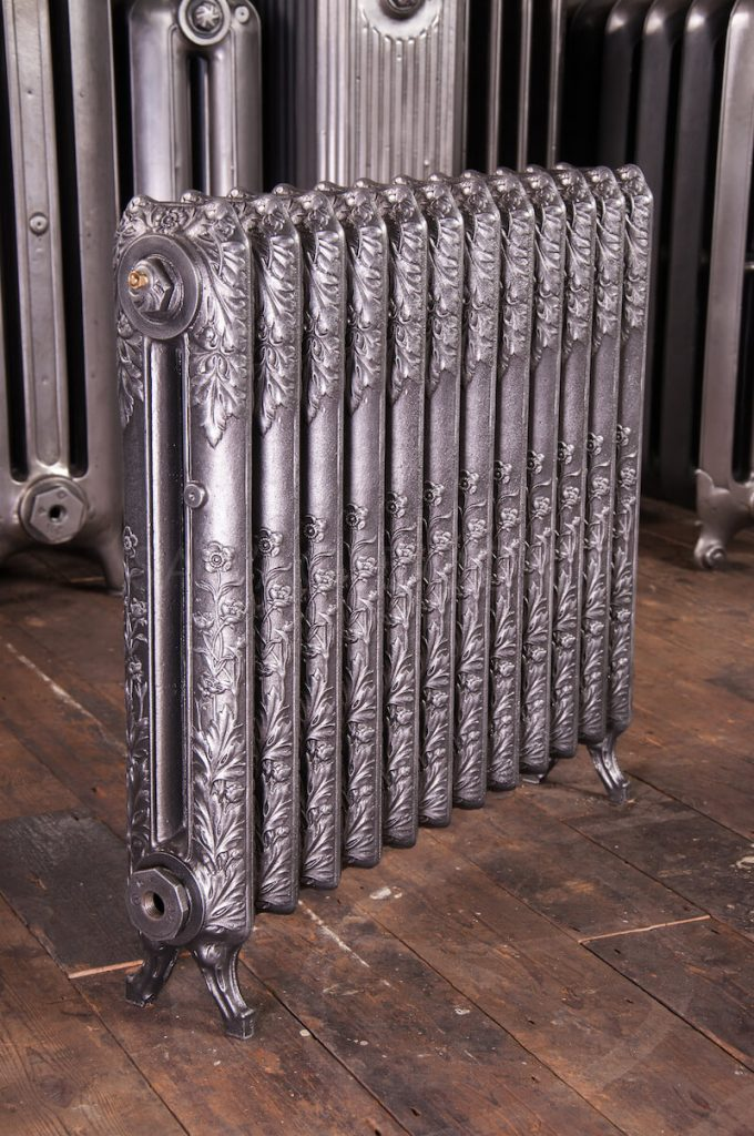 Original Daisy Single Column Cast Iron Radiator 620mm High