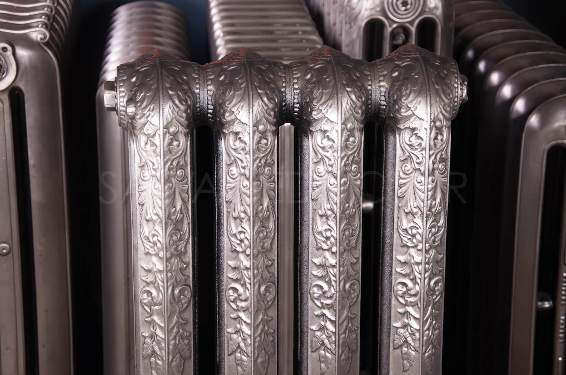 Safford Ornamental Four Column Cast Iron Radiator ...