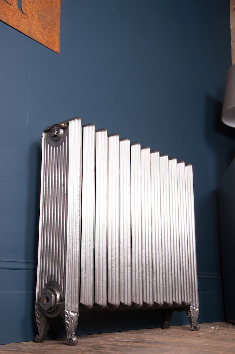 The Italian Flue Cast Iron Radiator 850mm High