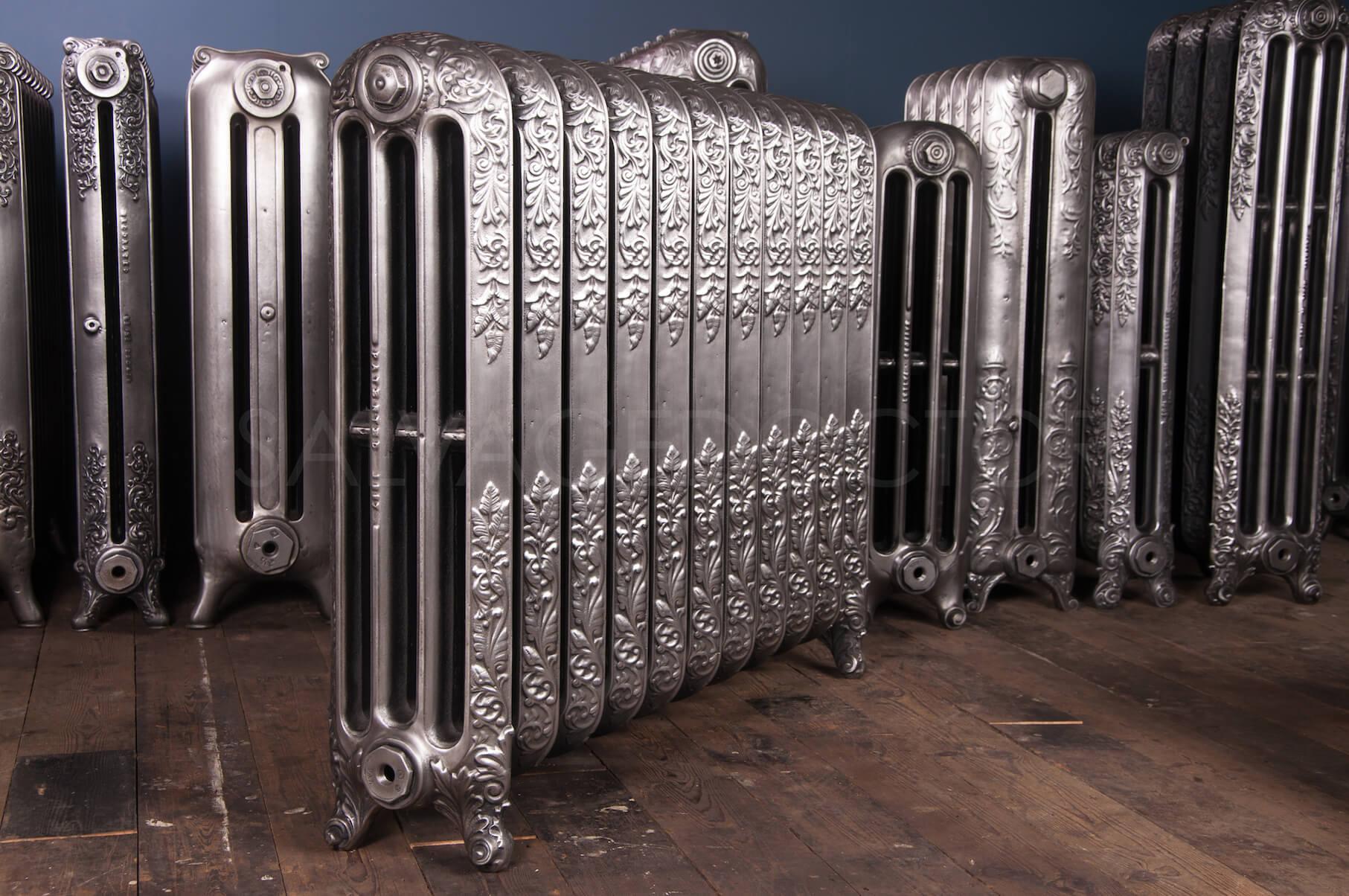Safford Ornamental Four Column Cast Iron Radiator 820mm ...