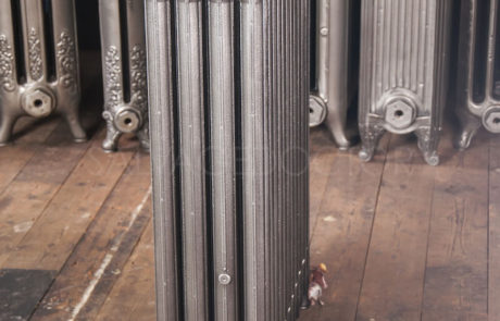 Beeston 4 column Cast Iron Radiator in Church Burnish