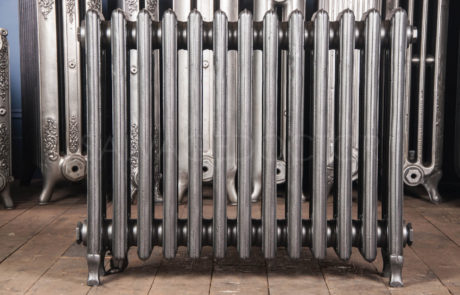 Corto Four Column Cast Iron Radiator 610mm High & 150mm Deep in Church Burnish