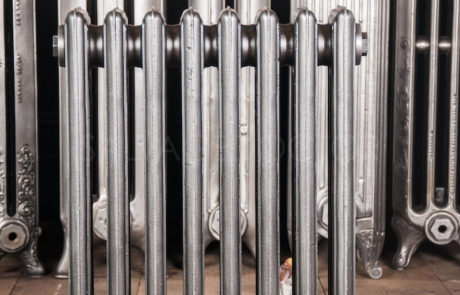 Corto Four Column Cast Iron Radiator 610mm High & 150mm Deep in Church Burnish