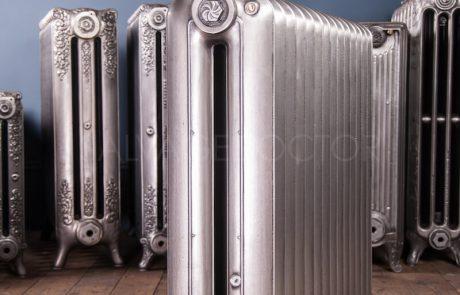 National Radiator Company (NRC) Double Column Princess cast iron radiator 190mm deep & 810mm high in Polish