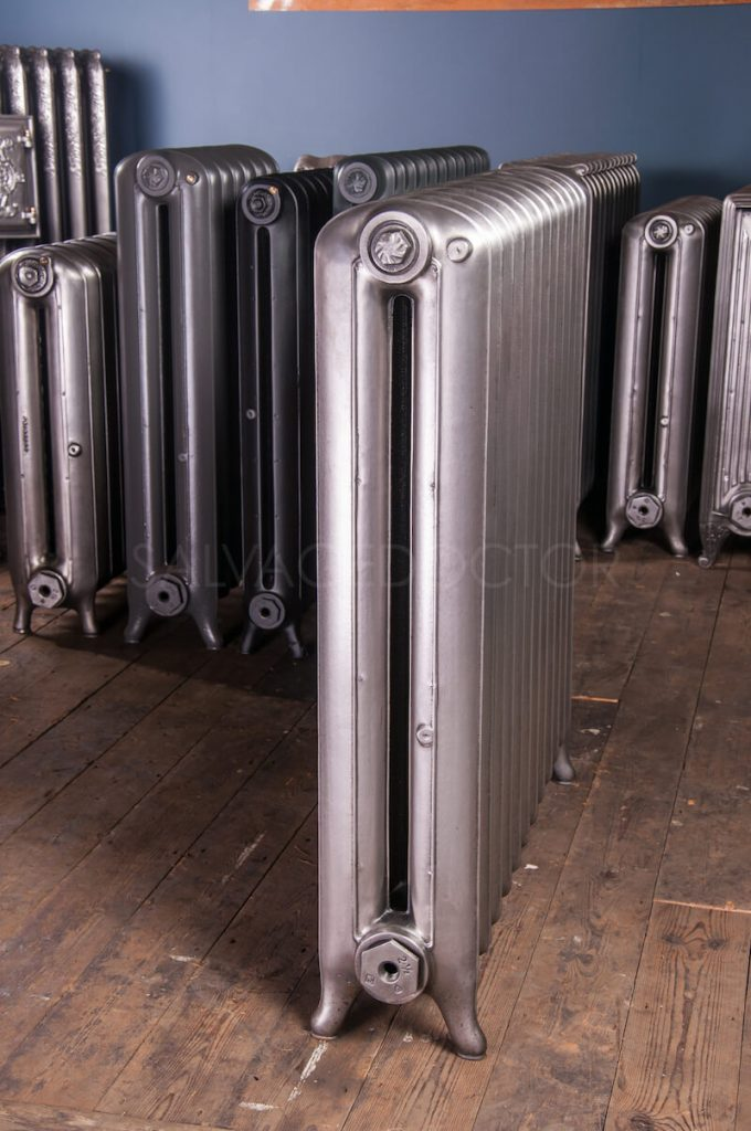 National Radiator Company (NRC) Double Column Princess Cast Iron Radiator 190mm Deep & 965mm High in Polish