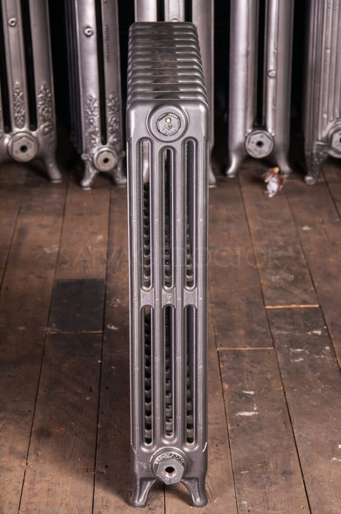 Ideal Standard 4 Column Cast Iron Radiator 760mm High in Gunmetal