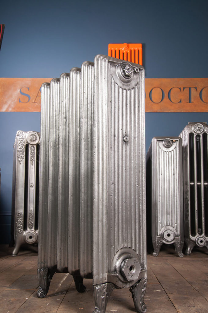 The Italian Flue Cast Iron Radiator 850mm High in Polish