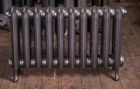 NRC 2 Column Princess Cast Iron Radiator 190mm Deep & 508mm High in Old Gun