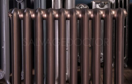 National Radiator Company (NRC) 2 Column Princess Cast Iron Radiator 190mm Deep & 810mm High in Bronze