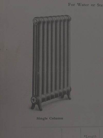 Duchess Cast Iron Radiator