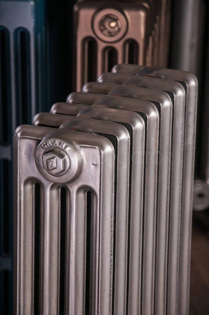 How Did Radiator Plants Become The Best: Crane 4 Column Cast Iron Radiator