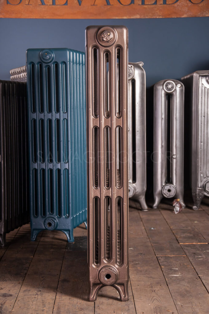 How Did Radiator Plants Become The Best: Ideal Standard 4 Column Cast Iron Radiator