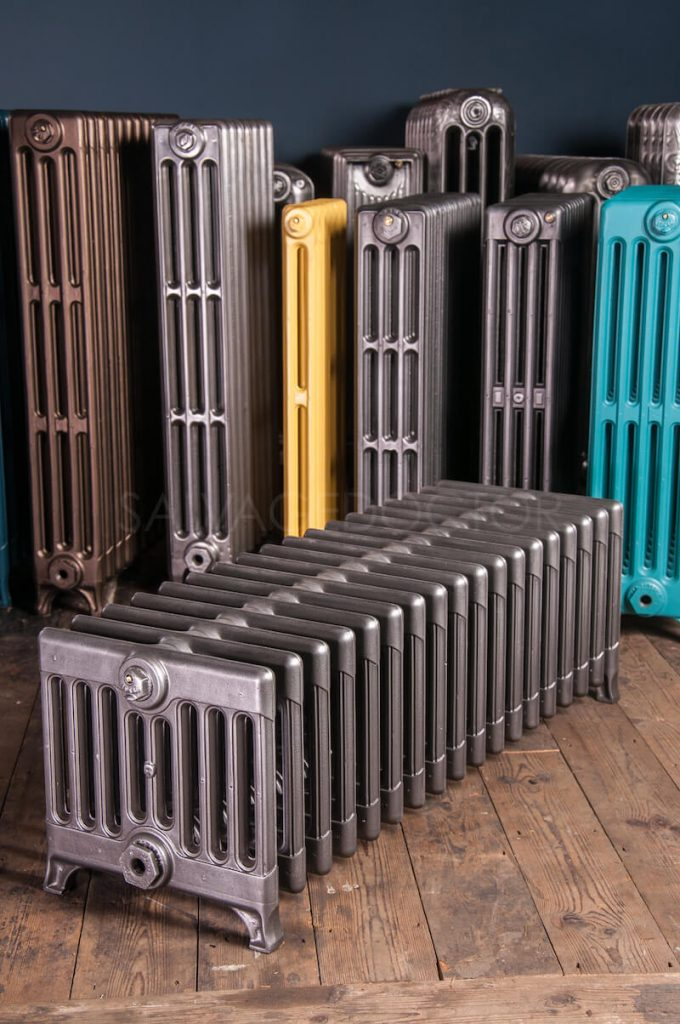 How Did Radiator Plants Become The Best: Ideal Standard 9 Column Cast Iron Radiator