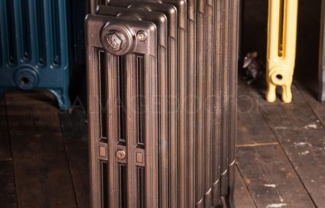 NRC 4 Column Cast Iron Radiator 610mm High in Burnished Bronze