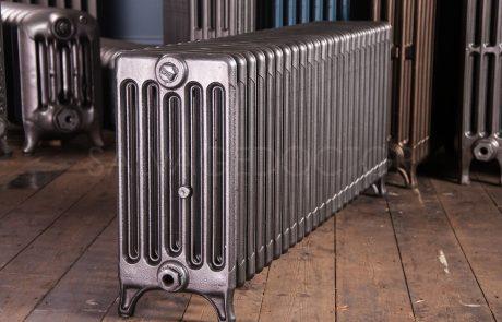 6 Column Ideal Standard 450mm High Cast Iron Radiator in Church Burnish