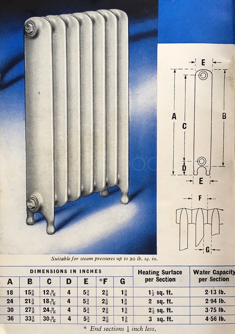 School and Hospital Cast Iron Radiator