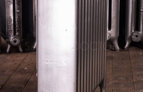 Ideal Standard Wide (185mm deep) School Hospital Cast Iron Radiator 760mm High in Polish