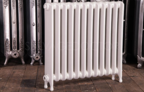 Ideal Standard Medium (145mm deep) School Cast Iron Radiator 760mm High in Off White