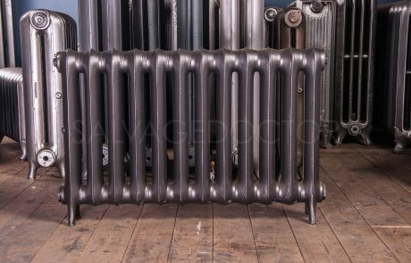 Beeston Single Column Duchess (140mm deep) Cast Iron Radiator 610mm High in Anthracite